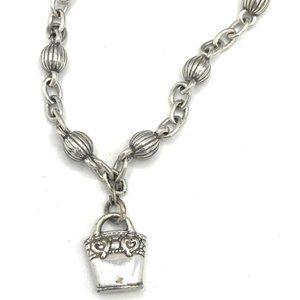 Brighton Basket charm Bracelet #1198